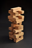 Bambuskontrollturmspiel Stockbild