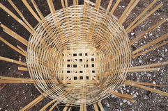 Bambuskorb Lizenzfreie Stockfotos