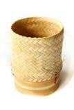 Bambuskorb Stockbilder