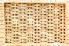 Bambuskorb Stockfoto
