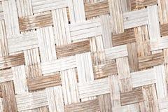 Bambuskorbbeschaffenheit Lizenzfreies Stockfoto