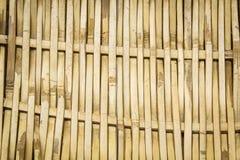 Bambuskorbwarenbeschaffenheit und -hintergrund. Stockbilder