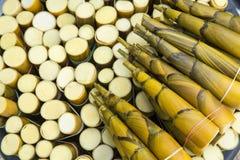 Bambuskott Arkivbild