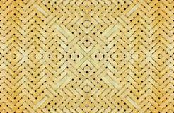 Bambusmöbel, Musterprodukte für den Hintergrund Stockbild