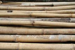 Bambusmaterial Stockfotografie