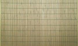 Bambusmatte als abstrakter Hintergrund stockbild