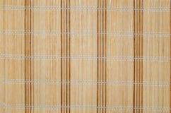 Bambusmattenhintergrund. stockfoto