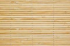 Bambusmattenhintergrund stockbilder