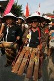 Bambusmusik Lizenzfreies Stockbild