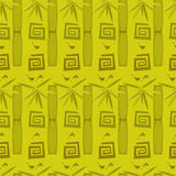 Bambusmuster Stockfotografie