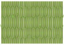 Bambusniederlassungen in der vertikalen Position Lizenzfreie Stockfotografie