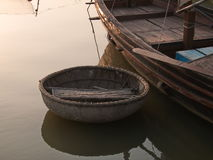 bambusowa łódź Zdjęcie Stock