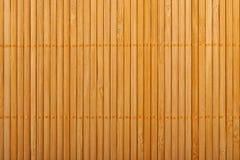 Bambusowa brown słomy mata jako abstrakcjonistyczny tekstury tła compositio Zdjęcia Stock