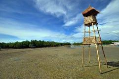 bambusowa Cebu miasta lapu wieża obserwacyjna fotografia royalty free