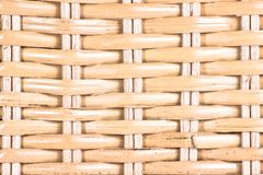 Bambusowa drewniana tekstura Obrazy Stock