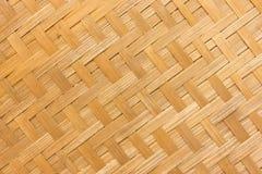 Bambusowa drewniana tekstura Fotografia Royalty Free