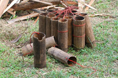 Bambusowa kolba 2 Zdjęcia Stock