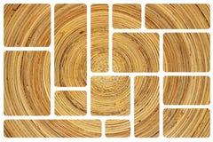 bambusowa konsystencja Obrazy Royalty Free