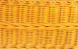 bambusowa koszykowa tekstura Zdjęcie Royalty Free