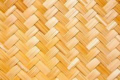 bambusowa koszykowa tekstura Obraz Stock