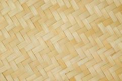 Bambusowa koszykowa tekstura Zdjęcie Stock