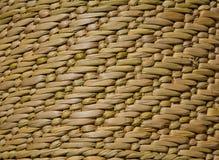 Bambusowa koszykowa tekstura Zdjęcia Royalty Free