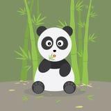 bambusowa lasowa panda ilustracji