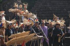 Bambusowa muzyka Zdjęcia Stock