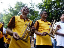 Bambusowa muzyka Obraz Royalty Free