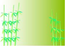bambusowa para ilustracji