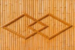 Bambusowa struktura Obrazy Stock