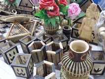 Bambusowa sztuka obrazy royalty free