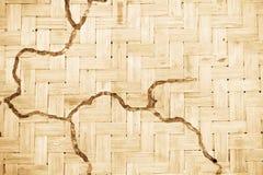 bambusowa tekstura Fotografia Royalty Free