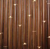 Bambusowa tekstura i tło Obrazy Stock