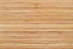 Bambusowa tnąca deska lub drewniana tekstura Obraz Royalty Free