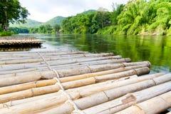 bambusowa tratwa Fotografia Stock