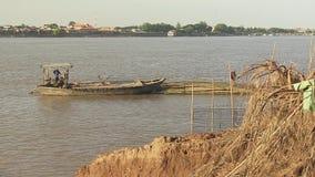 Bambusowa tratwa zdjęcie wideo