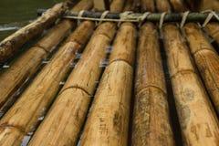 Bambusowa tratwa Zdjęcie Stock