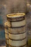 bambusowego zbiornika ciemnawa sterty suma Zdjęcia Stock