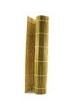 bambusowej kuchni japoński dywanika kolor żółty Zdjęcie Royalty Free