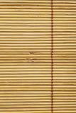 bambusowej zasłony materiału wzór Obrazy Royalty Free