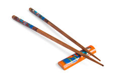 bambusowi chopsticks Obraz Stock