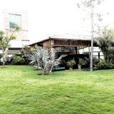 Bambusowy buda garaż Obrazy Royalty Free