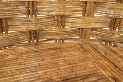 Bambusowy budowy wnętrza widok Obraz Royalty Free