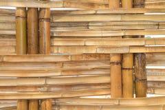 Bambusowy budowy wnętrza widok Zdjęcie Royalty Free