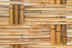 Bambusowy budowy wnętrza widok Zdjęcia Royalty Free