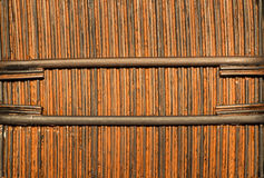 Bambusowy kosz Fotografia Royalty Free