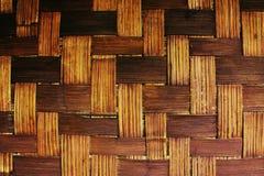 bambusowy koszykarstwo Fotografia Stock