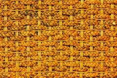 bambusowy koszykarstwo Zdjęcia Stock