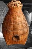 Bambusowy koszykarstwo zdjęcia royalty free